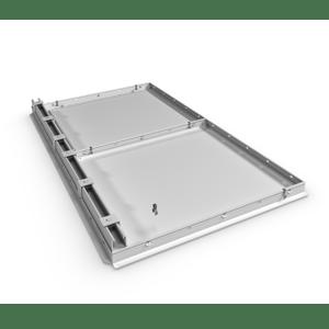 Hospital grade welded ceiling system