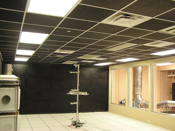 Flexible mock up room for a variety of HVAC products