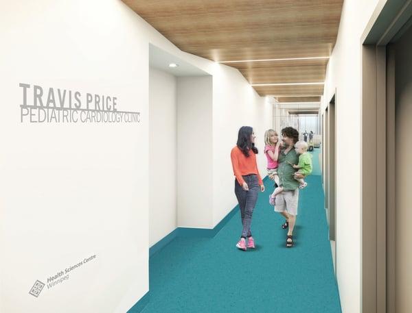 Travis Price Pediatric Cardiology Clinic rendering